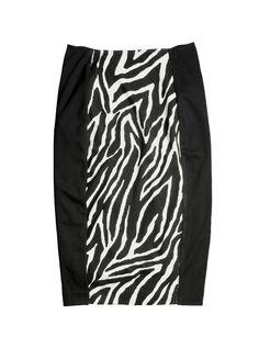 So Slimming™ Zebra Pencil Skirt #SoSlimming #chicos