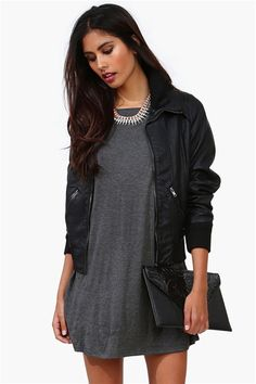 Fall Connection Jacket in Black