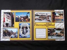 Fishermans Wharf - hmmm, I need that boat wheel!