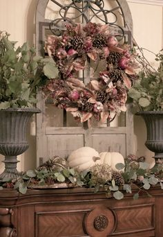 SOUTHERN LIVING INSPIRED FALL MANTEL