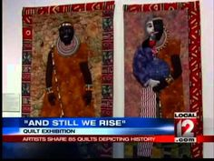Quilt Exhibit Depicts History