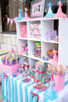 Mesas de dulces princesa sofia