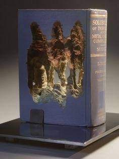 Guy Laramee book sculpture art. http://www.guylaramee.com/index.php?/lineage/a-caverna/