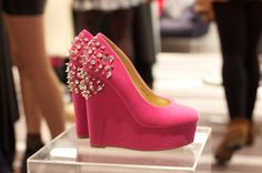 pink and spikes