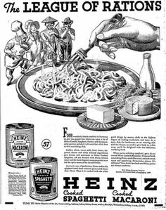 League of Rations - Food Advertisment