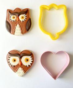 Owl cookie ideas