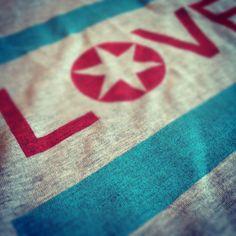 Love for the Chicago flag