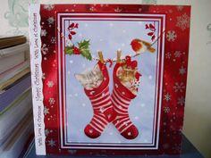 Hunkydory Christmas Card christmas cards, christma card, card idea, kimmiekoo card, hunkydorey card, hunkydori card, card hunkydori, hunkydori christma
