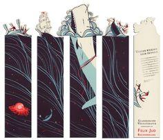 Clever bookmark designs by Pietari Posti