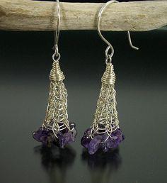Viking Knit Dangle Earrings