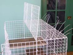 How to build a condo for house rabbits - detail instructions