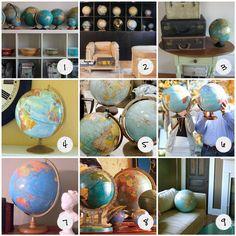 love globes just like i love maps!