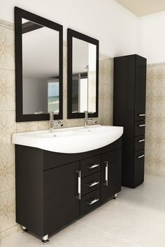 "Celine 48"" Double Bathroom Vanity Set"
