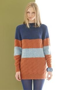 Jean sweater from Rowan - I really want to knit this