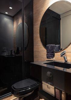Morando sozinho com personalidade. Veja: http://casadevalentina.com.br/projetos/detalhes/morando-sozinho-com-personalidade-559 #decor #decoracao #interior #design #casa #home #house #idea #ideia #detalhes #details #style #estilo #casadevalentina #bathroom #banheiro