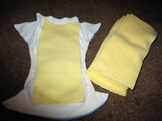 DIY Fleece Liners for Cloth Diapers - help prevent diaper rash and prevents stains on the insides of the diaper