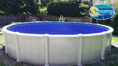 Calendonia 24rd all resin pool by Aqua Leader. http://www.abovegroundpoolbuilder.com/calendonia