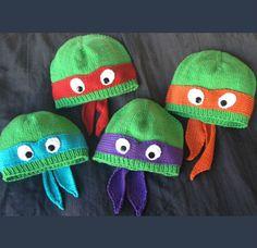 ninja turtles beanies