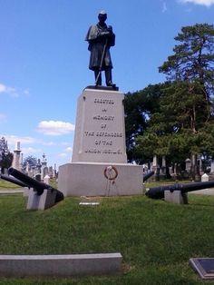 Civil war monument, york, Pa.