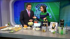 better alternatives for popular football party snacks