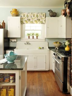 Love that vintage sink for the laundry room. Kitchen Design, Pictures, Remodel, Decor and Ideas - page 12
