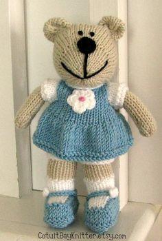 Knitting Patterns Teddy Bear Stuffed Animals : DIY crafts on Pinterest 69 Pins