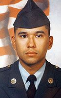 Army Spc. Jose Amancio Perez III  Died May 28, 2003 Serving During Operation Iraqi Freedom  22, of San Diego, Texas; assigned to 6th Battalion, 27th Field Artillery Regiment, Fort Sill, Okla.; killed May 28 when the convoy he was traveling in was ambushed in Taji, Iraq.