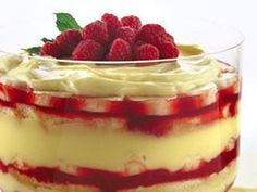 sweet, trifles, fruit trifl, dessert recip, food, healthi, fatfre fruit, fatfre trifl, trifl recip