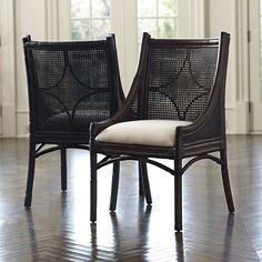 Bella Cane Dining Chairs by Ballard Designs