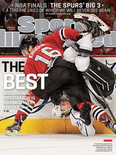 The Blackhawks are back on the cover of Sports Illustrated, this time being featured in one of two national covers of the magazine!