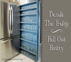 Pull Out Pantry for Small Spaces