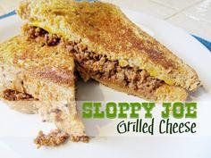 Sloppy Joe Grilled Cheese