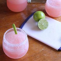 pink grapefruit margaritas | summer cocktails
