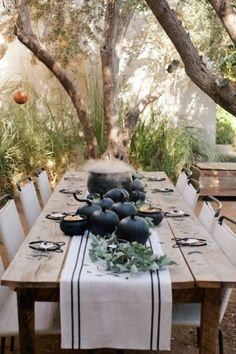 Halloween Tablescape on Rip+Tan