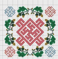 Славянские обереги схема для вышивки