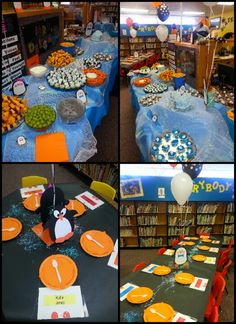Kollins penguin school party the kids reward for achieving there reading  goal for the first semester of school :) penguin school, reward idea, school parties, kid reward, kids, read goal, school idea, read reward, kollin penguin
