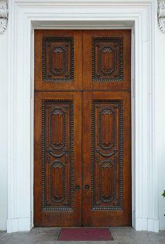 Charleston, SC Trinity United Methodist Church door
