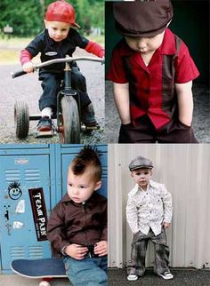 These little boys are adorable
