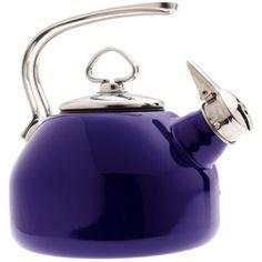 Chantal teapot, in cobalt, of course.