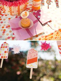 Summer Popsicle themed birthday party!