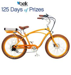 Cruise through the summer on a new electric bike! Enter to win! #belk125