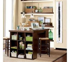 ideas for my craft room.