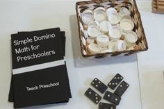 Simple Domino Math for Preschoolers by Teach Preschool Great Ideas!
