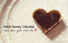 Hard Honey Candies