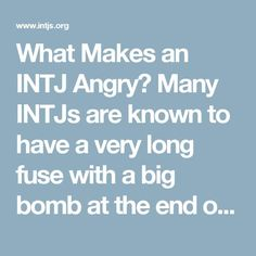 What Makes an INTJ A