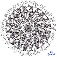 zentangl, pattern, circl, art, doodl, mandala