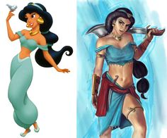 11 Disney Princesses Gone Very Bad (Cinderella With Blades? Disney Chicks Ain't Nothing to Mess With!) | StyleBlazer