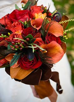 Bouquet #Fall #Autumn #Wedding