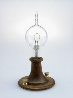 First Edison light bulb