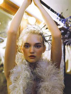 Gemma Ward by Patrick Demarchelier for Vogue India